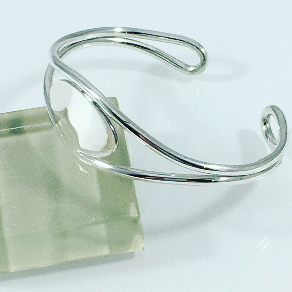 Engravable Cuff in Sterling Silver
