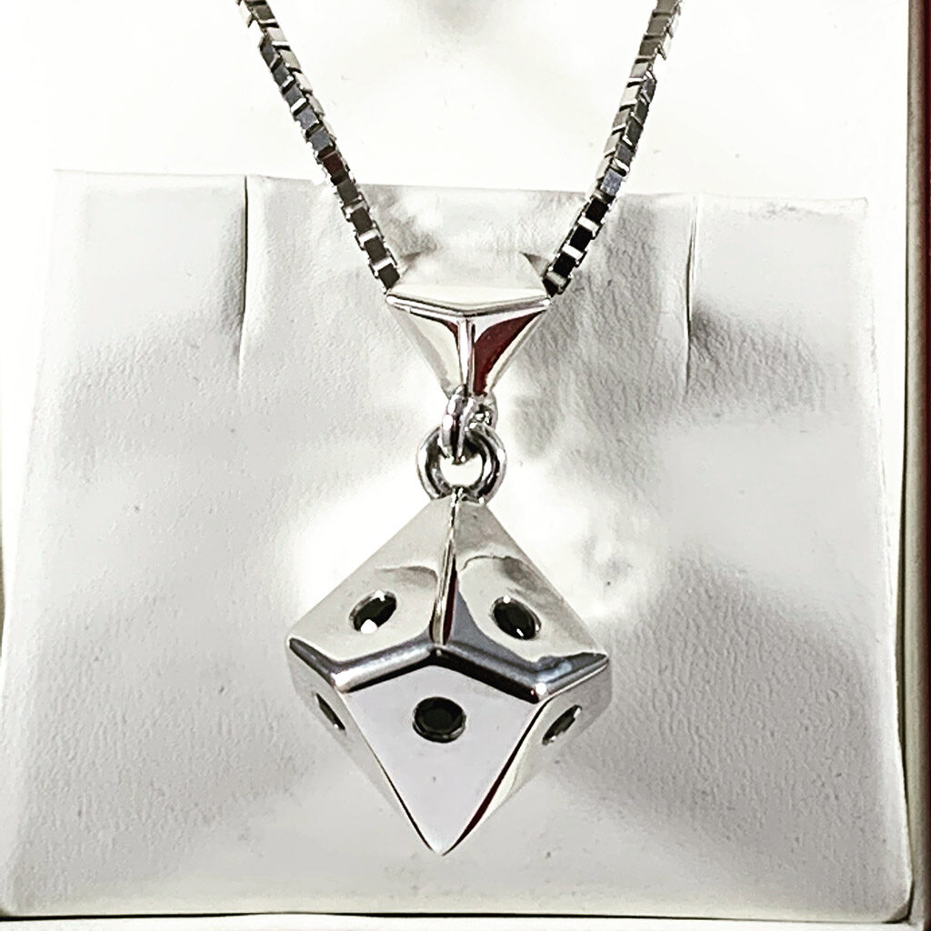 Ten Sided Die Necklace