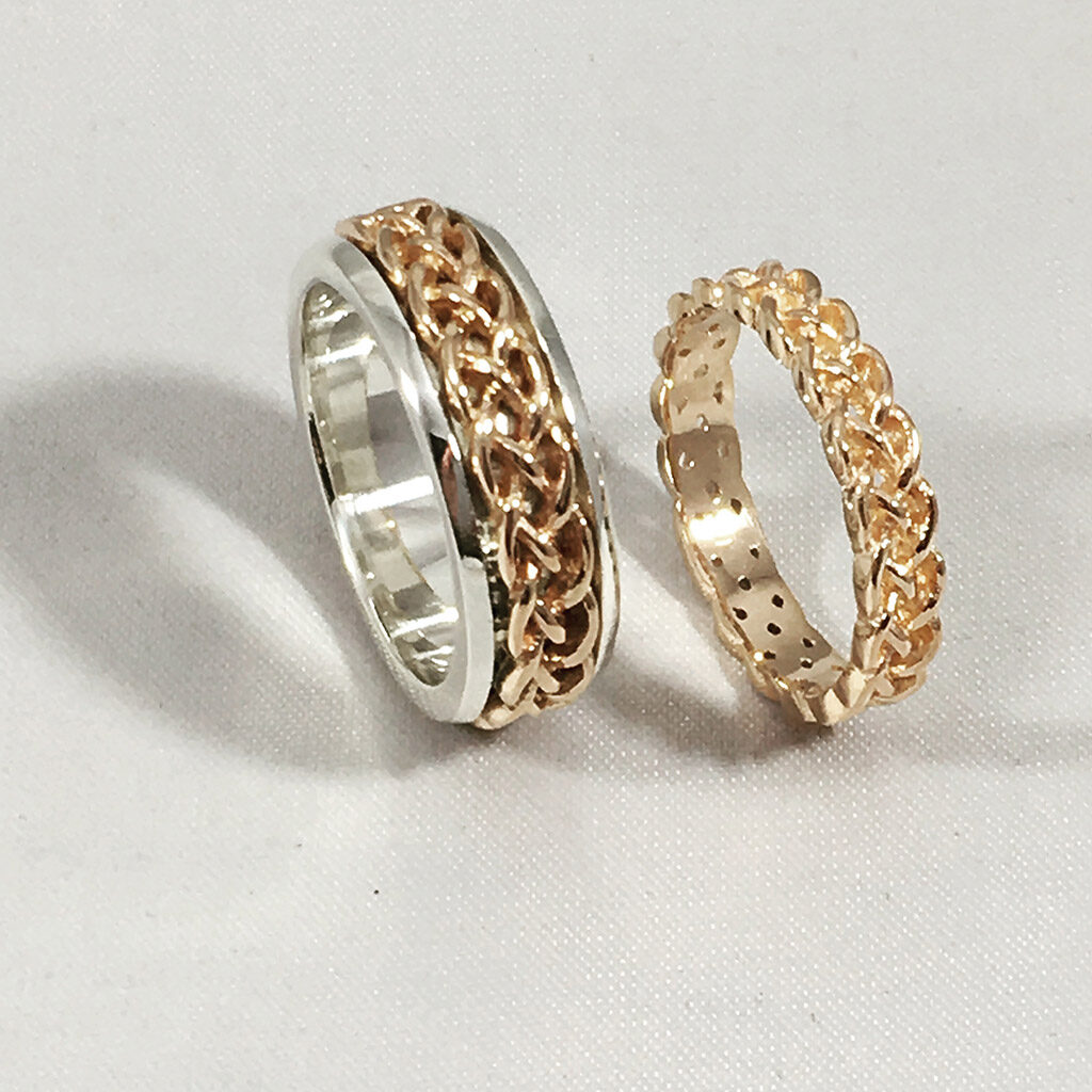 The Emily Wedding Ring Set